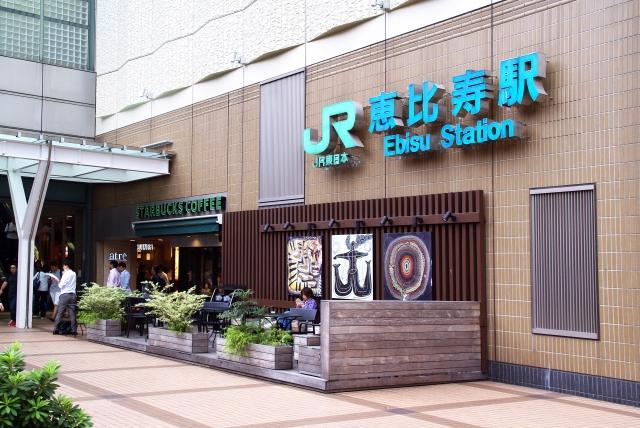 横浜駅から恵比寿駅