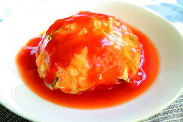 タレ 天津飯